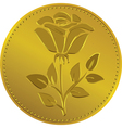 British money gold coin Vector Image