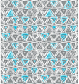1196pattern with triangles vector image