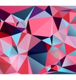 color triangular polygons vector image