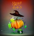 Happy Halloween Doodle Set vector image