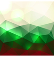 Christmas Abstract Triangles Background vector image vector image