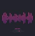 sound wave audio vector image