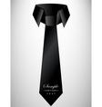 Abstract retro cravat vector image