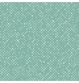 Seamless dotted pattern background vector image