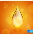 Oil drop icon vector image