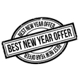 Best New Year Offer rubber stamp vector image