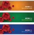 box banners vector image