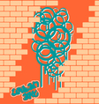 Cool Graffiti vector image
