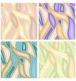 vector abstract seamless backgrounds vector image vector image