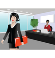 busy day vector image