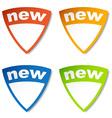 new tag vector image