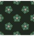 Vintage mandala pattern Seamless background vector image