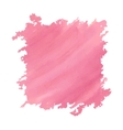 Watercolor deep pink vector image
