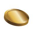 gold coin casino money treasure icon vector image