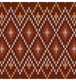 Seamless Knitwear Pattern vector image vector image