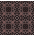 Seamless geometric pattern on background vector image