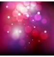 Abstract defocused christmas background Festive vector image