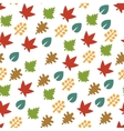 Seamless Pattern with Leaf Background vector image