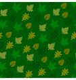 Seamless Pattern with Leaf Background vector image vector image