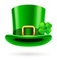 Green hat vector image