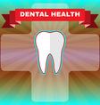 Dental Health Flyer vector image