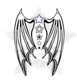 devil wings vector image