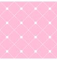 White Square Diamond Grid Light Pink Background vector image