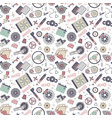 car spare parts seamless pattern vector image