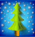 christmas decorative template vector image