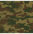 seamless camouflage pattern khaki texture vector image