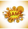 bam vector image