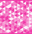 pink poly vector image