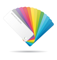 Color guide icon vector image