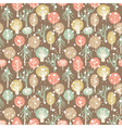 Forest seamless pattern vector image