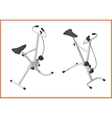 exercise bike gym 3d vector image