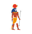 ra god of noon sun in ancient egypt religion vector image