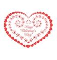 valentine form vector image vector image