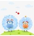 lamb color vector image