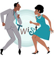 The Twist vector image
