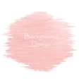 Watercolor peach color strokes vector image