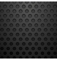 Dark concept circles technology background vector image