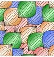 abstract Christmas ball seamless texture vector image