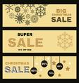 Christmas banner2 vector image