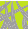 roads vector image