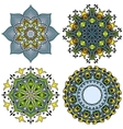 doodle mandala s vector image
