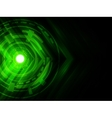 futuristic digital technology background vector image