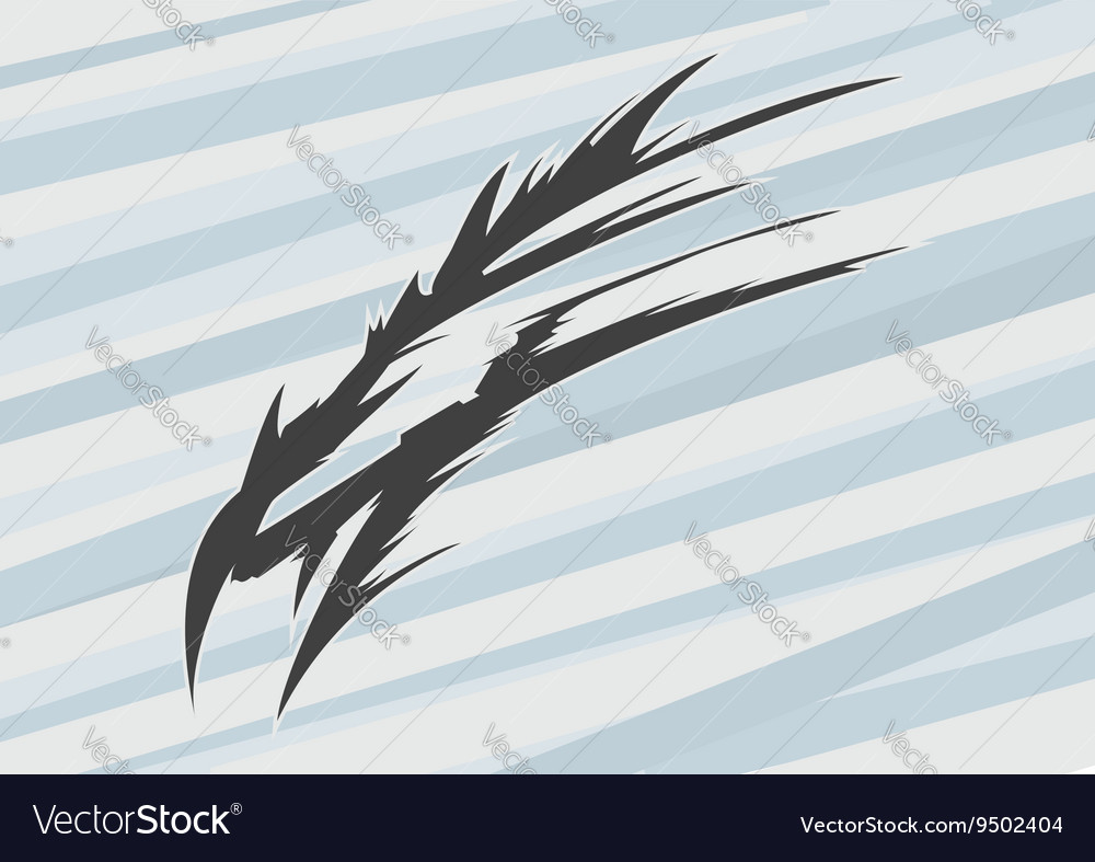 Abstract dragon head vector