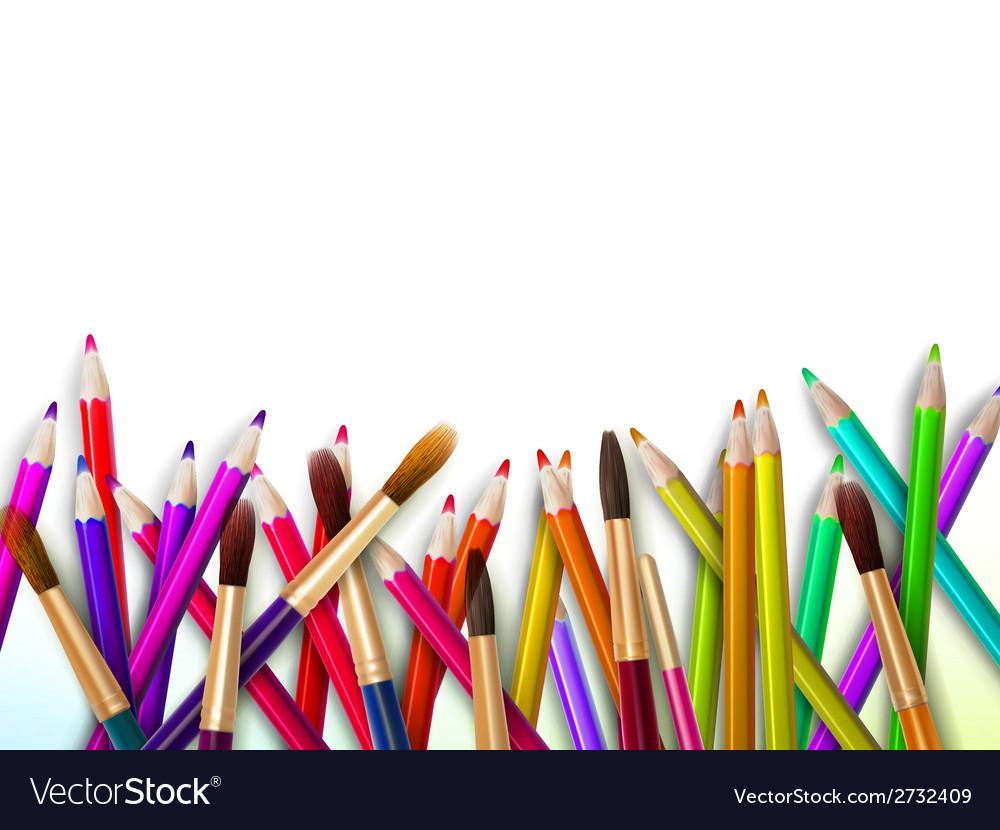 Modern school background with copyspace eps10 vector