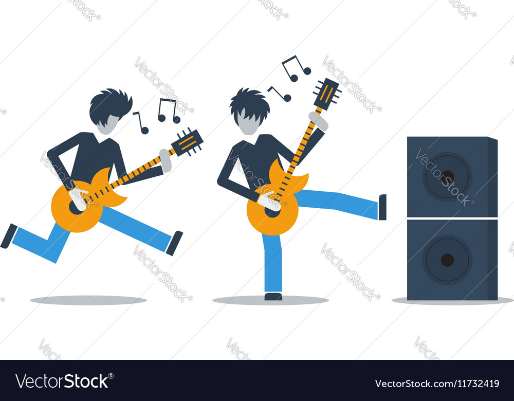 Music live performance vector