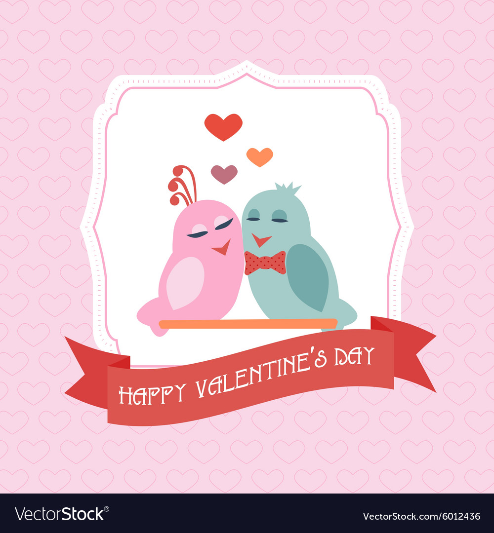 Congratulations to the st valentines day label vector